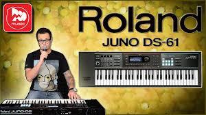 <b>Синтезатор ROLAND JUNO-DS61</b> - YouTube