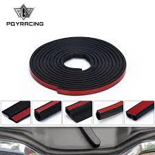 <b>4 Meters Shape</b> B P Z Big D Car Door Seal Strip EPDM Rubber ...