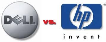 Compare Dell vs Hewlett-Packard ( HP ) 2013