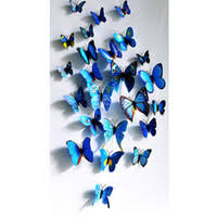 <b>3d Wall</b> Colorful Butterflies Stickers UK