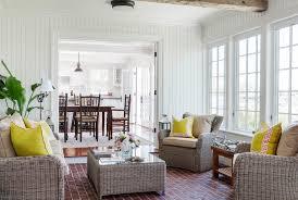 sunroom furniture ideas sunroom beach style with wicker furniture red brick patio beachy style furniture