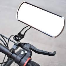 <b>1 Pair Aluminum</b> Bike Mirror Mountain Bicycle Rearview Handlebar ...