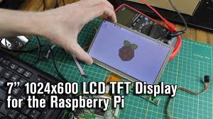 <b>7 Inch</b> 1024*600 <b>LCD</b> Touch <b>Screen</b> for the Raspberry Pi - YouTube