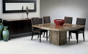Stone Dining Room Table Round Dining Room Tables Seats 8 Wood Round Dining Table Set With