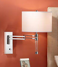 swing arm wall lamps bedroom sconce lighting