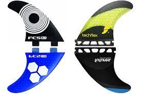 Futures or <b>FCS</b>? The <b>surfboard fin</b> dilemma
