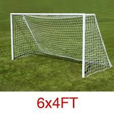 <b>2PCS</b> 6*4ft Football Soccer Goal Post Net <b>Outdoor</b> Sports Match ...