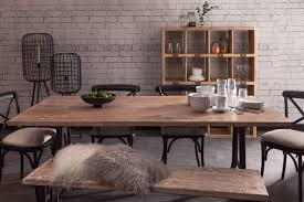 Industrial Style Kitchen Table Dining Tables Industrial Chic Style Furniture Oli Grace