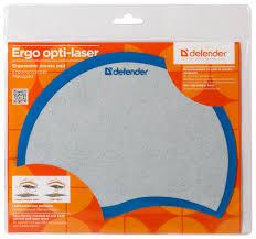 Купить <b>Коврик Defender Ergo</b> opti-laser (50511 / 50513) синий по ...