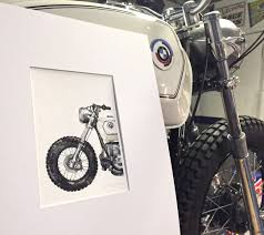 paul the bmws owner gifted me this wonderful watercolor inked illustration by south african artist claudia liebenberg bmw office paintersjpg