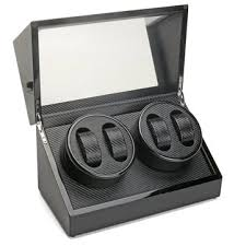 4+0 luxury <b>automatic motor</b> rotation wood <b>watch winder</b> box at ...