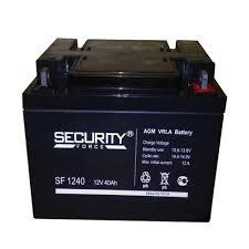 <b>Security Force</b> SF 1240 (12V/40Ah) | <b>Аккумулятор</b> (АКБ, батарея ...