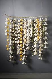 origami wall sculpture created