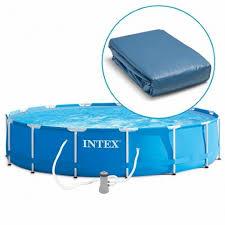 12457 <b>Intex Metal Frame</b> Pool <b>457х122см</b> Чаша для каркасного ...
