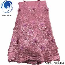 BEAUTIFICAL 3d lace flowers <b>latest nigerian</b> lace <b>styles</b> french party ...