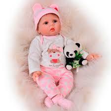 48cm full body silicone reborn baby girl dolls sleeping babies newborn lifelike lovely doll bathe toy play house kids gifts