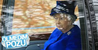 Kraliçe Elizabeth kamuoyu önüne çıktı