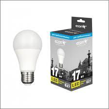 <b>Лампа светодиодная ECON LED</b> A 17Вт E27 3000K A70 SS ...