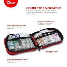 First Aid Kit – <b>100 Pieces</b> – <b>Bag</b>. – BRITKEN