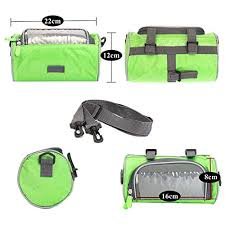 Moligh doll 2x Outdoor <b>Bicycle Handlebar Bag Mountain Bike</b> Press ...