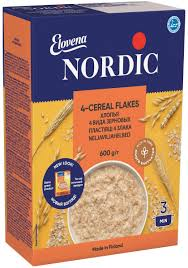 <b>Nordic хлопья 4</b> вида зерновых, 600 г — купить в интернет ...