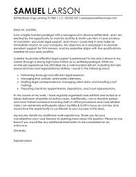 example of a paralegal cover letter writing a legal cover letter