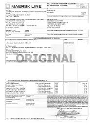 bill of lading form estes resume maker create professional it
