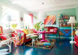 it is important to balance the color scheme and choosing the right colors for home decor bright colorful home