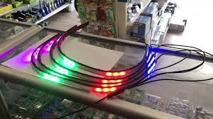 <b>Подсветка решетки радиатора</b> А 8400 RGB (4шт.*60см.) NEW ...