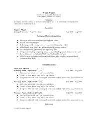 resume simple example resume format  resume examples simple template