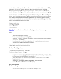 interior design job resume interior design proposal example best renovation samplecubtab