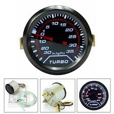 Shop <b>12V Universal</b> 52mm /<b>2 inch</b> LED Car Turbo Boost Pressure ...