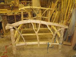 furnitureunfinished wooden log furniture lounge chair ideas pine log wood bed frame with unifinished brilliant log wood bedroom