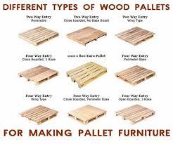 pallet furniture plans types of pallets amazing diy pallet furniture