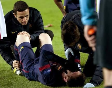 Messi Lesionado: