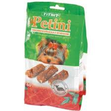 <b>TiTBiT Колбаски Petini</b> с ягненком - пакет 60г 1х60