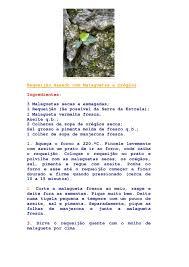 Resultado de imagem para IMAGENS DE RECEITAS DE MALAGUETA