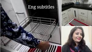 (हिंदी) How to Pull out/Remove & Clean <b>Kitchen Trolley</b> - How ...