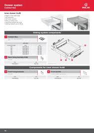 soft close drawers box: comfort box inner drawer soft close silver
