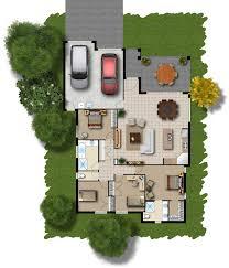 Floor Plans for Marketing   Archiform D    Coloured floor plan from the Bridgeway project