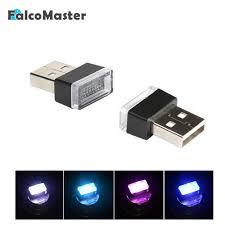 <b>Universal</b> Mini USB Night Light <b>LED Car</b> Interior Atmosphere Lights ...
