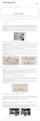 printed web interviews features michelle kuen suet fung 馮捲雪 art hong kong