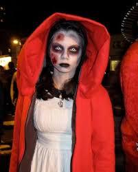 zombie little red riding hood little dead riding hood makeup scary red riding hood makeup scary red riding hood costume zombie riding little red riding