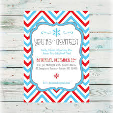 printable holiday party invitations digital files holiday party invite snowflake