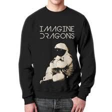 """<b>Мужские свитшоты</b> c эксклюзивными принтами """"imagine dragons ..."""
