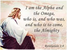 Image result for jesus is the alpha and omega
