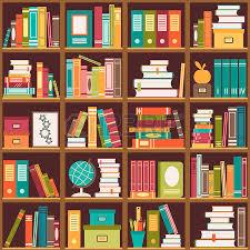 Resultado de imagem para desenho de prateleiras de livros
