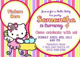 printable hello kitty birthday party invitations drevio tea party hello kitty birthday invitations