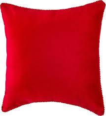 <b>Подушка декоративная Santalino Фьюжен</b>, 850-827-40, красный ...