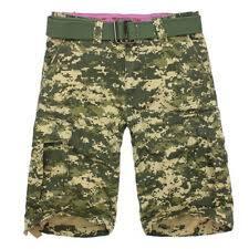 Армейский разноцветный Big & Tall <b>шорты</b> для мужчин ...